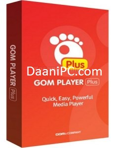 GOM Player Plus [2021]Full Crack With License Key Free Download