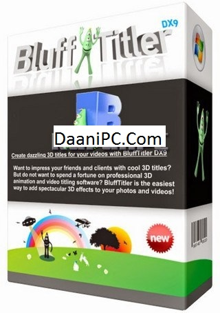 BluffTitler DX9 Ultimate Pro 15 Portable With Crack Free Download