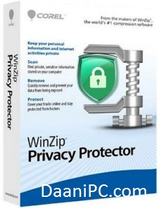 WinZip Privacy Protector [V4.0] Crack With License Key Free Download