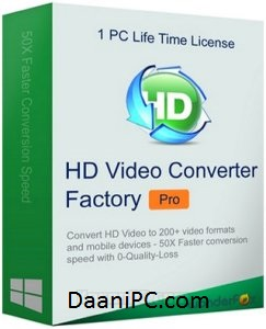 HD Video Converter Factory Pro [v21.0] Latest Crack With Key Free Download
