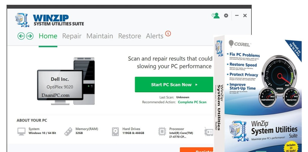 WinZip System Utilities Suite [V3.14.1.6] Latest Crack With License key Free Download