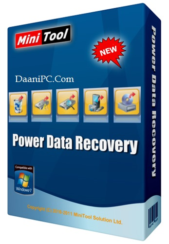 MiniTool Power Data Recovery [v10.1] Crack With License Key Free Download