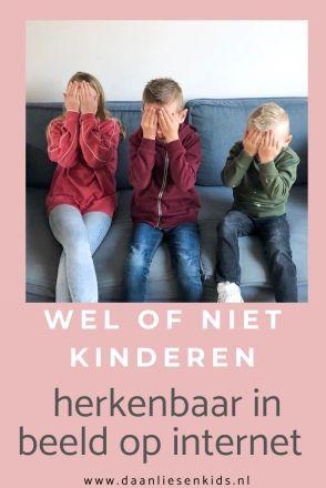Kinderen herkenbaar in beeld op internet instagram youtube - onherkenbaar mamablogger opvoeden opvoeding mama .jpg