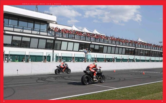 Ducatisti at work - dragracing diavels