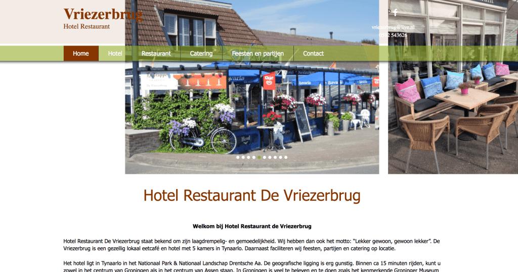 hoteldevriezerbrug.nl