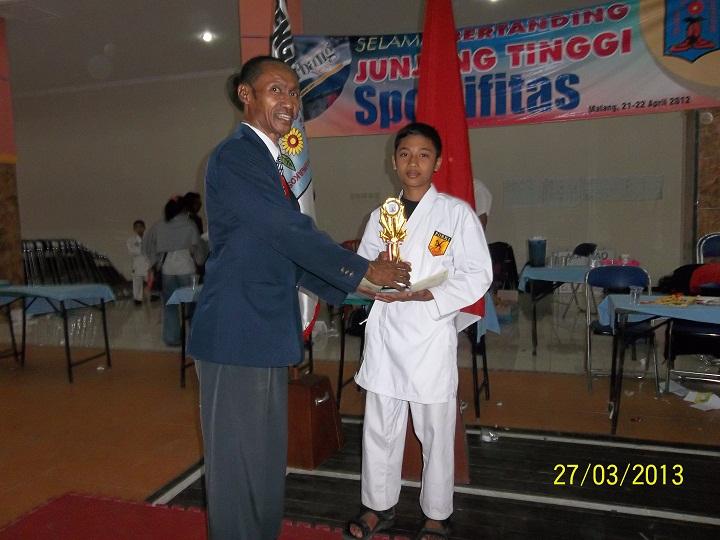 juara 2 karate kota malang