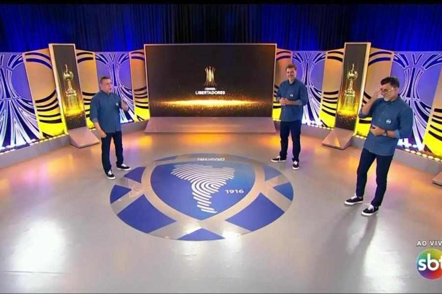 Libertadores faz boa estreia no SBT