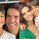 Carol Celico e Kaká e Filhos