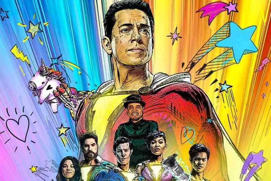 Shazam 2 só chega em 2023 aos cinemas, mas as novidades não param. Ontem, o diretor do filme divulgou duas novas imagens do longa.