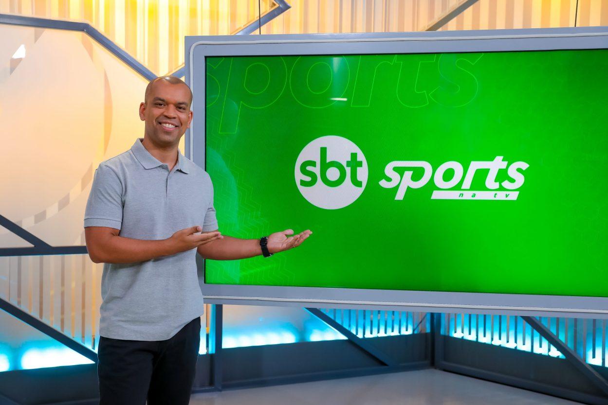 O apresentador do SBT Sports, Luiz Alano (Foto: Beatriz Nadler/SBT)
