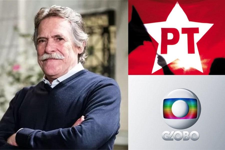 José de Abreu dá adeus a Globo e se candidata pelo PT