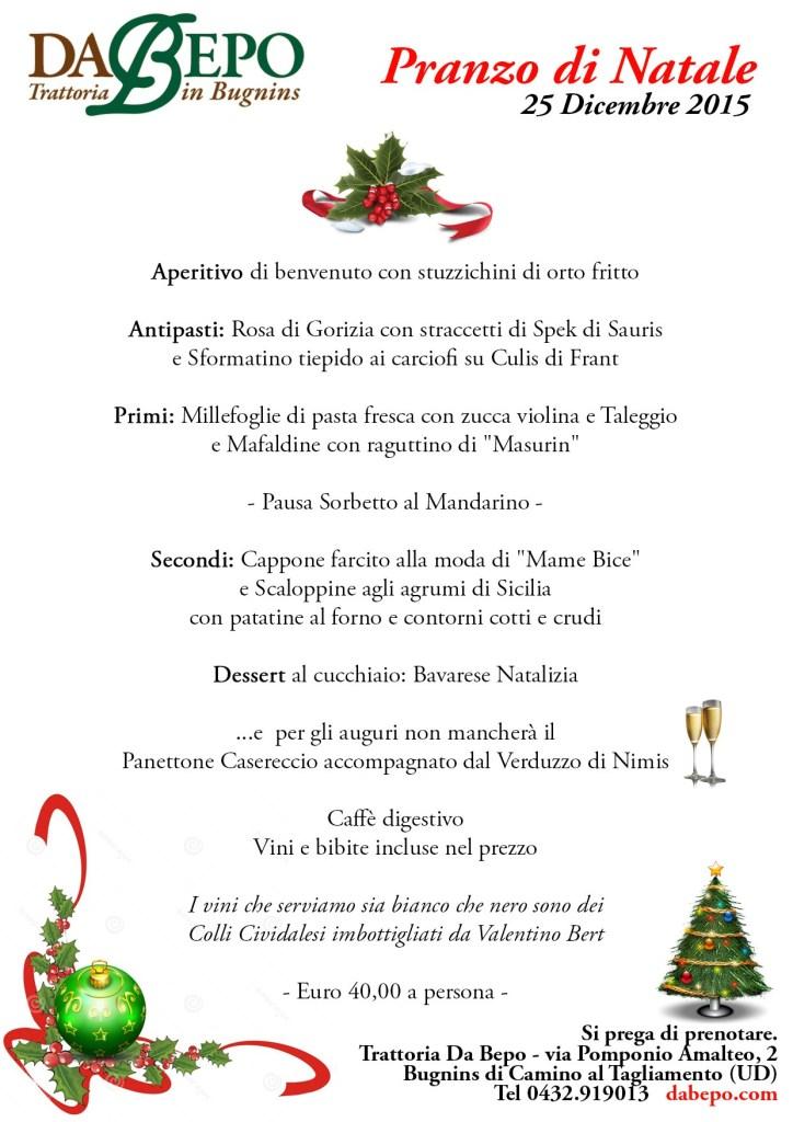 Natale Da Bepo 2015 724x1024 Menu del Pranzo di Natale 2015