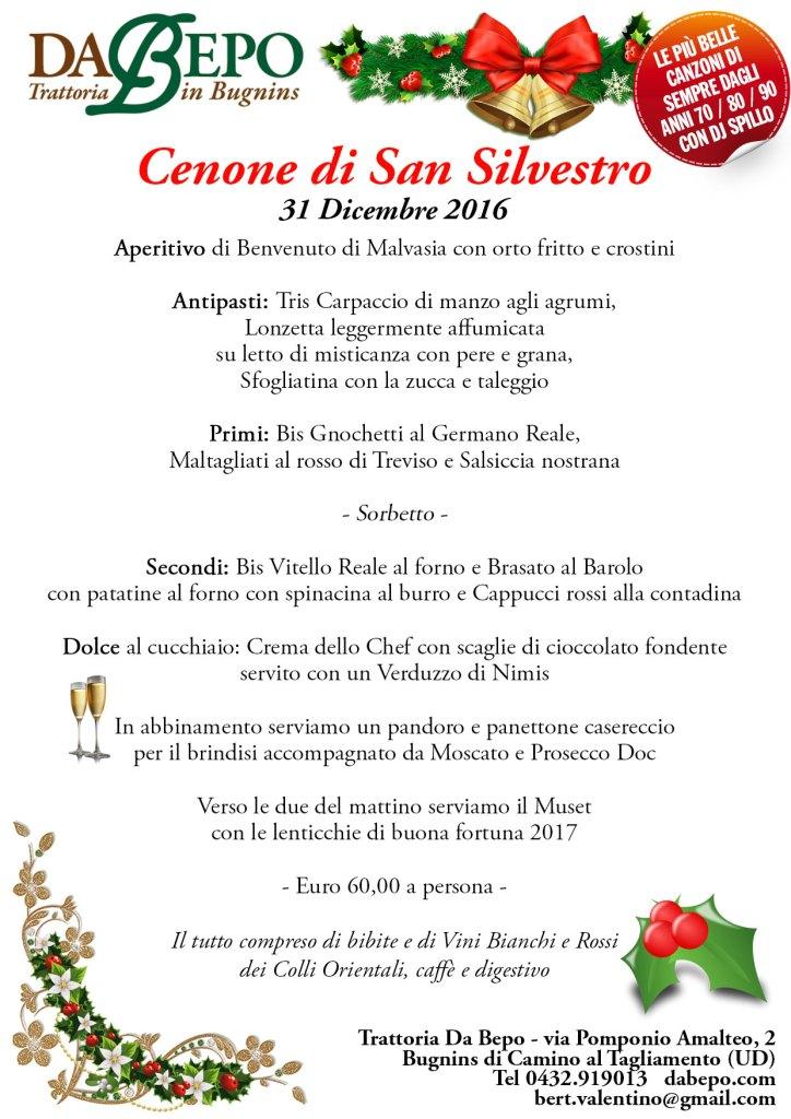 Menu Capodanno Da Bepo Udine 2016 724x1024 Cenone di San Silvestro, capodanno 2016 (2017)