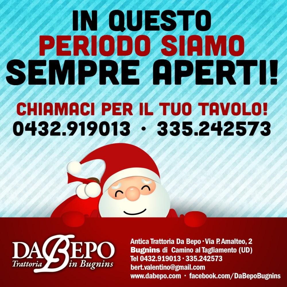 Natale Bepo 2 1024x1024 A dicembre sempre aperti