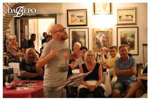 %name Fotografie della serata con Catine e Moretti