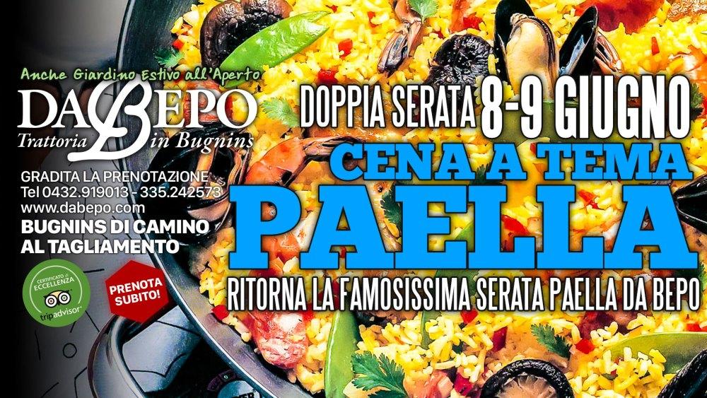 Paella 1024x576 Doppia Serata Paella! 8 9 Giugno trattoria Da Bepo