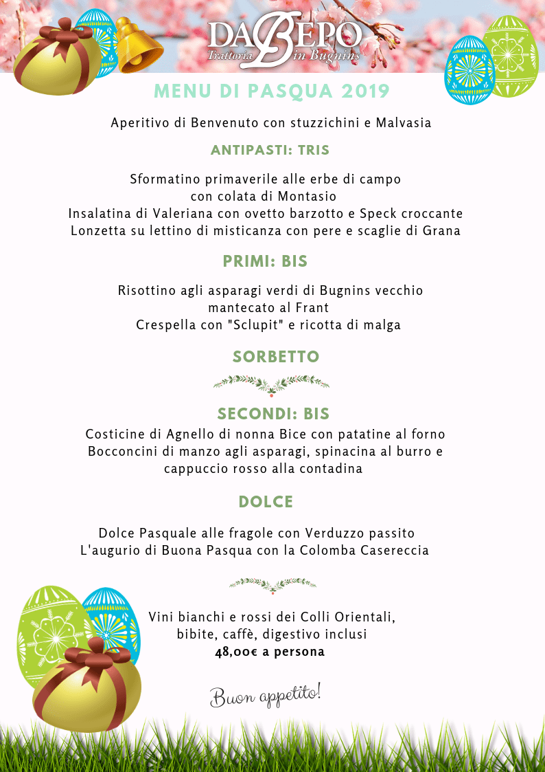 menu di pasqua ok 2 Menù di Pasqua 2019 Trattoria Da Bepo