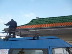 Dachbeschichtung bei McDonalds in Geesthacht