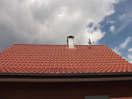 Die Dachfläche