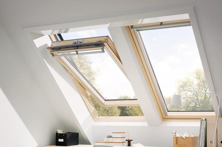 dachfenster velux ggl holzfenster