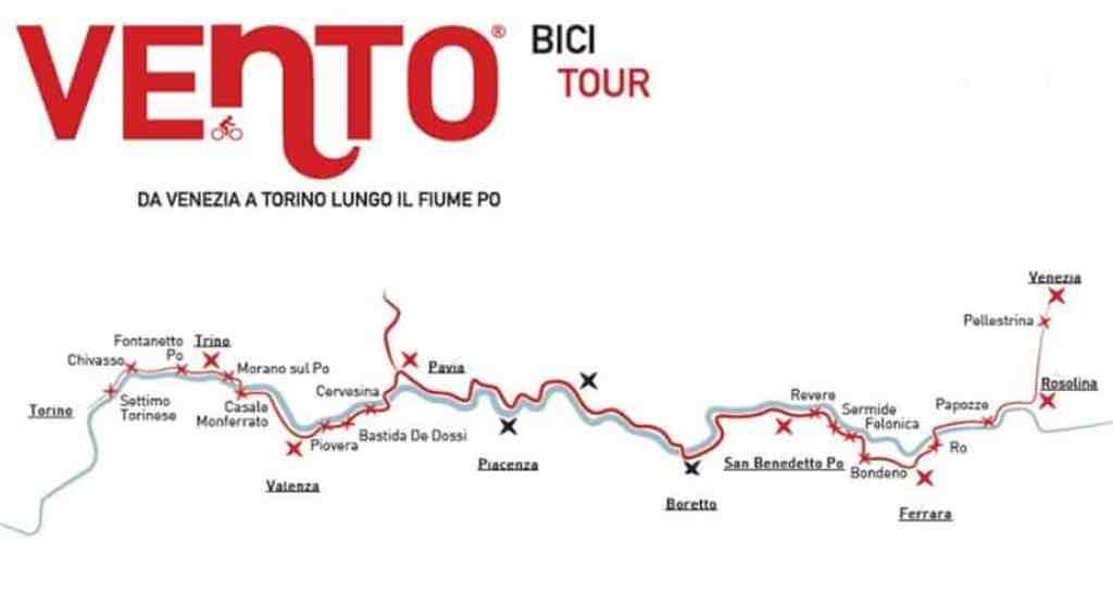 VENTO BICI TOUR a CHIVASSO in PIEMONTE