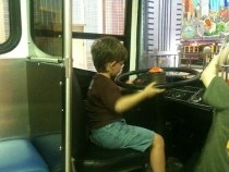 The Monster driving a bus - PTM August 2012