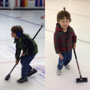 Both kids on the ice, October 2016