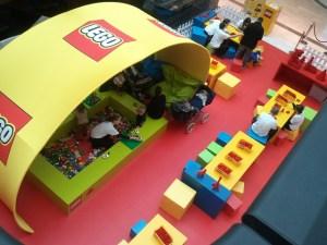 L'animation Lego.