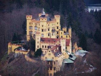 Le château d'Hohenschwangau.