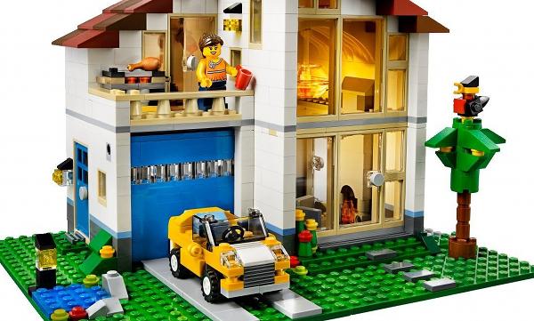 Lego les maisons creator fin 2013 dad 3 0 for Maison moderne lego