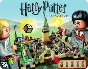 Illustration Harry Potter Hogwarts LEGO 3862