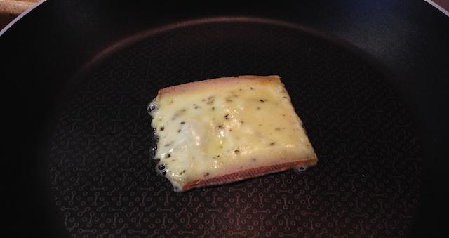Racelette fondue poele