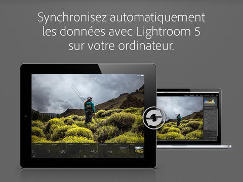 lightroom synchro ipad