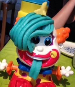 Clown coiffé