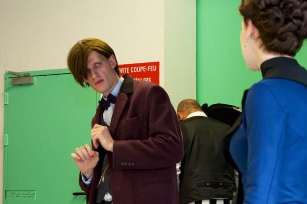 The Doctor surpris par Clara