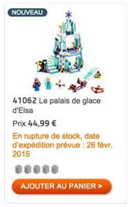 Capture du produit sur le Shop LEGO