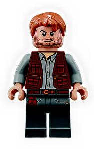 LEGO Jurassic World Chris Pratt minifigure