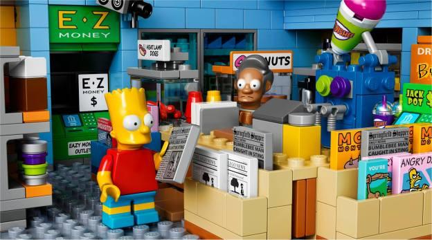 LEGO Kwik-E-Mart caisse