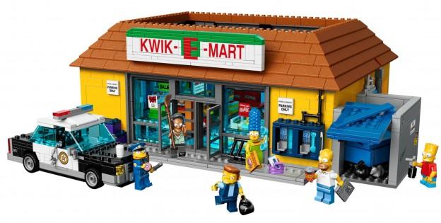 Vue ensemble Kwik-E-Mart