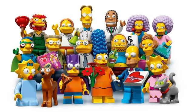 Simpsons minifigures vague 2