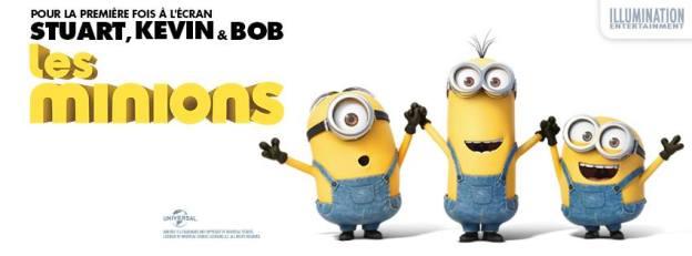 Les Minions au cinéma