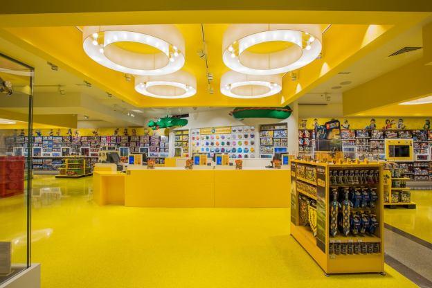 Le LEGO Store du Forum des Halles publiée par LEGO sur l'évènement Facebook (LEGO)