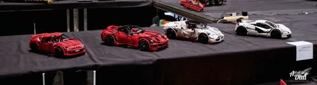 Quelques reproductions de voitures de sport en LEGO Technic (D.Stankovski)