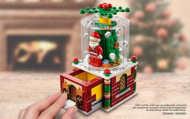 L'ensemble Boule à Neige offert dès 65 € d'achat (LEGO)