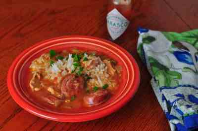 Pressure Cooker Chicken Gumbo
