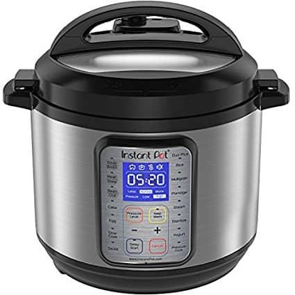 Instant Pot IP-DUO Plus 6 Quart (Image courtesy of Amazon.com)   DadCooksDinner.com