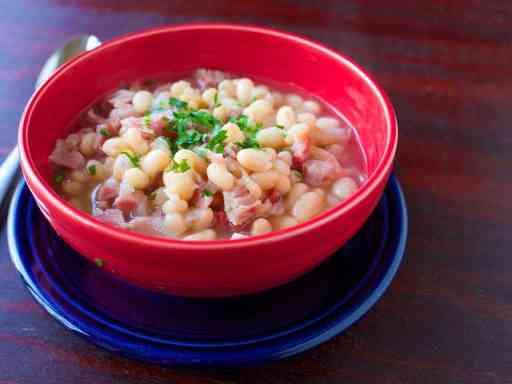Pressure Cooker Senate Bean Soup | DadCooksDinner.com