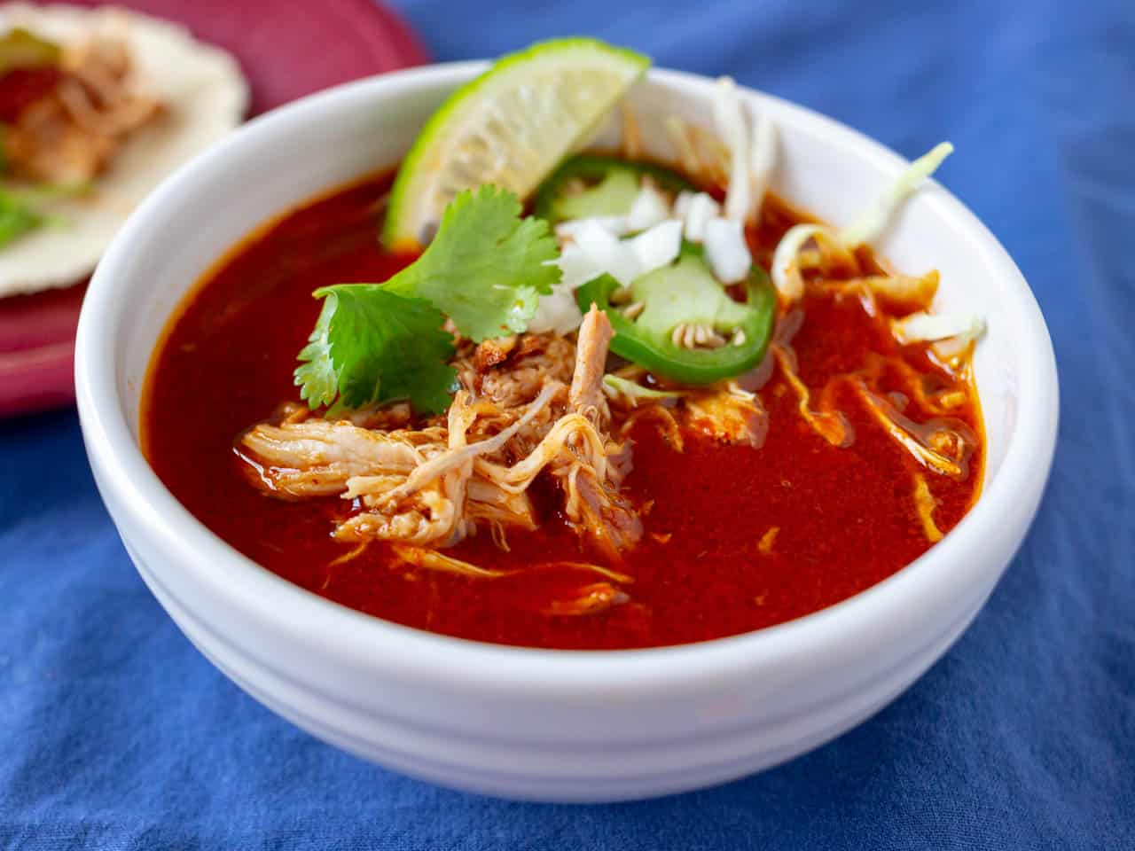comforting red chile broth - HD1280×960
