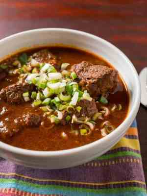 Pressure Cooker Texas Red Chili | DadCooksDinner.com