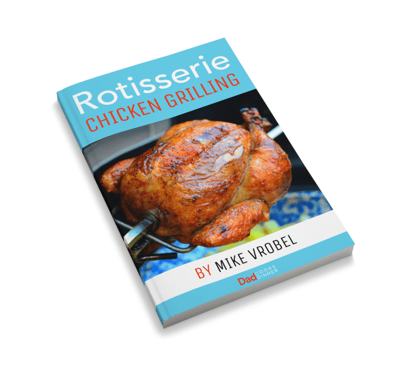 Rotisserie Chicken Grilling by Mike Vrobel
